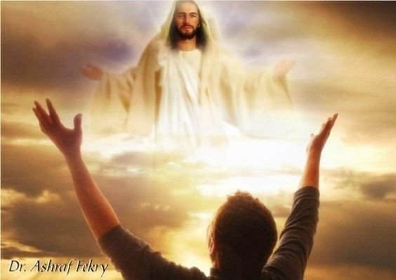 Christian worship backgrounds of Jesus in heaven Picture ...