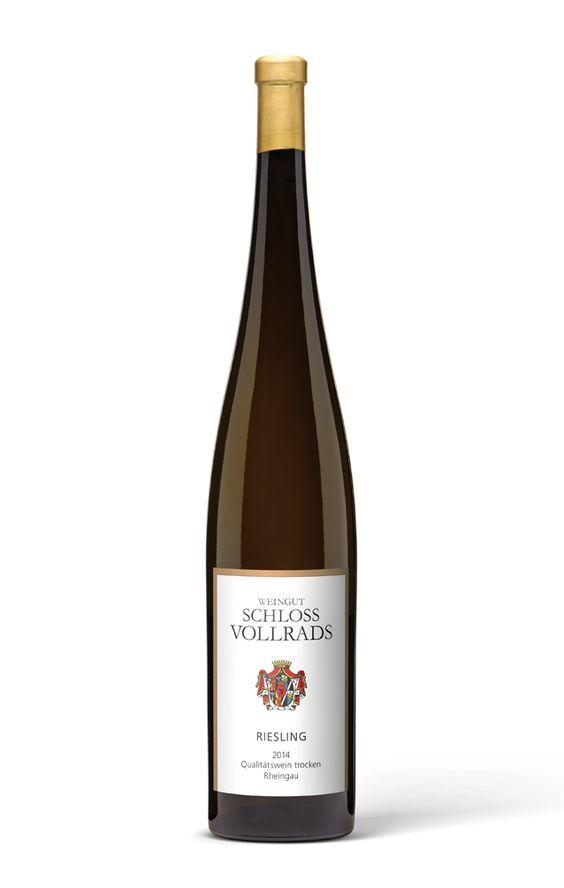 2014 Wgt. Schloss Vollrads Riesling Qualitätswein trocken 1,5l Magnum Flasche - Schloss Vollrads
