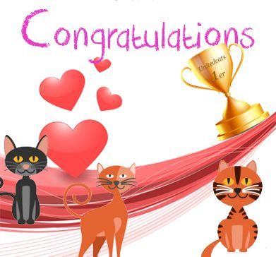 (1) Forum - Congratulations to