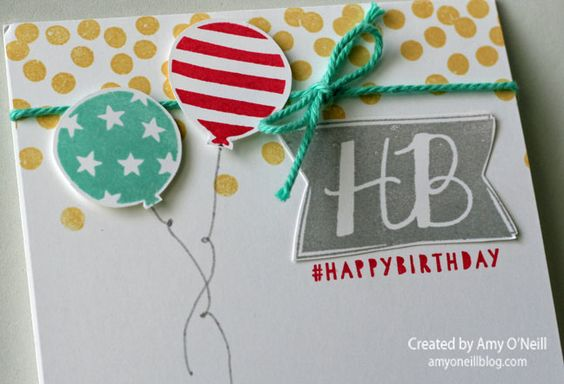 Balloon Bash   Amy's Paper Crafts