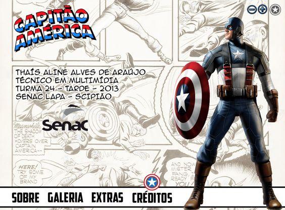 Projeto Capitão América - Tela 05