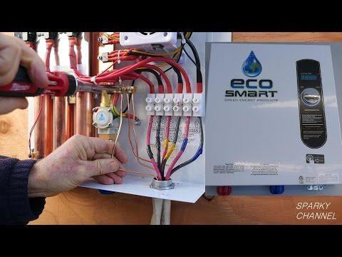 Youtube Water Heater Installation Tankless Water Heater Water Heater