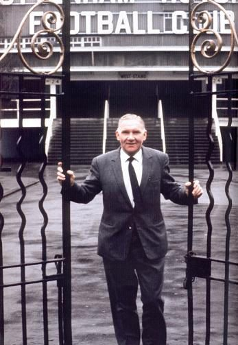 Glory Glory Tottenham Hotspur, Bill Nicholson is opening the gates, as Spurs march on to glory.