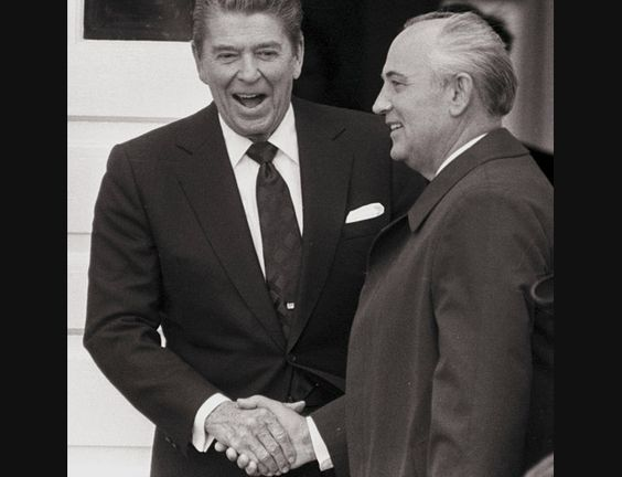 The end of the Cold War, ending decades of heightened tension between the US and USSR -JMN