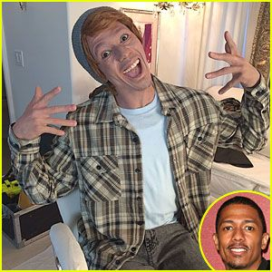 Lightup Concepts: Nick Cannon Sparks Controversy By Sporting Whitefa...