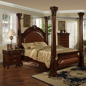 Greystone Helios Four Poster Bedroom Collection