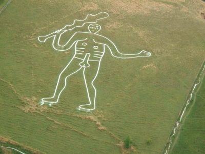 Il simpatico Gigante di Cerne Abbas, Inghilterra