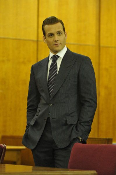 A Tom Ford suit, as worn by the character Harvey Specter in Suits