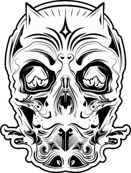 Devil skull! Too fucking cool!