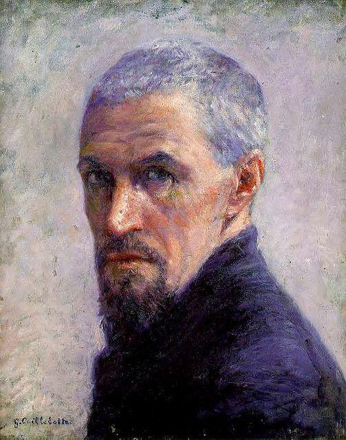 Gustave Caillebotte. Portrait de l'artiste (Self-portrait). c. 1892. Musée d'Orsay, Paris www.monr Tableau.com #FredericCla