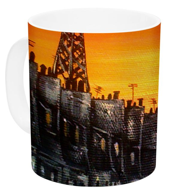 Paris by Christen Treat 11 oz. Ceramic Coffee Mug