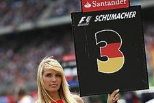 Grid Girl. Formula One World Championship, Rd 11, German Grand Prix, Race, Hockenheim, Germany, Sunday, 25 July 2010  © Sutton Images.