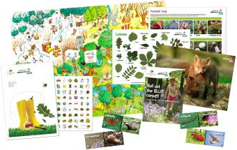 Forest Schools activity pack (from nature detectives, run by the Woodland Trust)