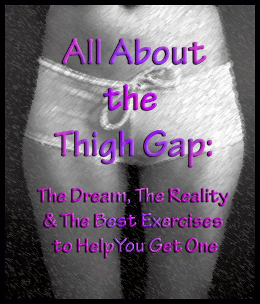 What is a thigh gap? It's when there is a clear space between your upper/ middle thigh area when you are standing with your feet together.
