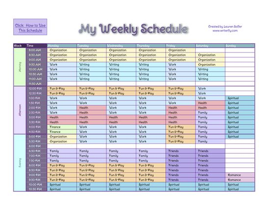 ... weekly schedule ideas microsoft excel templates schedule templates
