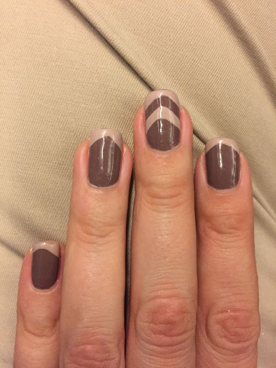 A different French mani #nail #nails #nailart @nailartproject IG FB @nailartparaprincipiantes