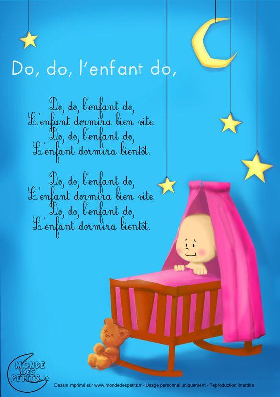 Paroles_Do do, l'enfant do