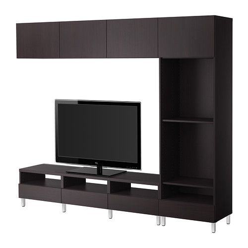 ikea best tv m bel kombination vara schwarzbraun m bel aktuelle planung pinterest. Black Bedroom Furniture Sets. Home Design Ideas