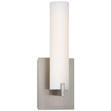 "George Kovacs 13 1/4"" High ADA Nickel LED Wall Sconce -"
