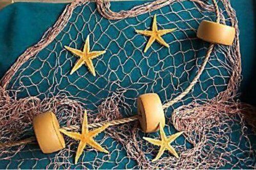 Amazon Com 15 Ft X 8 Ft Decorative Nautical Fish Netting Fishing