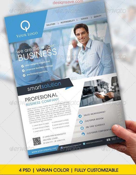25 best premium psd business flyer templates business flyer templates 586x753 design - Corporate flyer inspiration ...