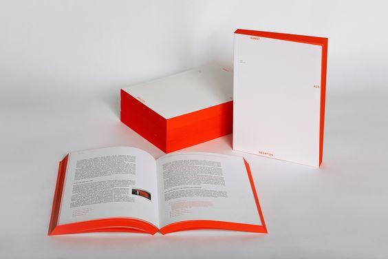 Kunst als Negation; Design: Cedric Vilim
