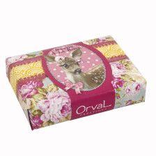 Orval Créations - Savon Le monde d'Adèle, parfum Thé à la rose