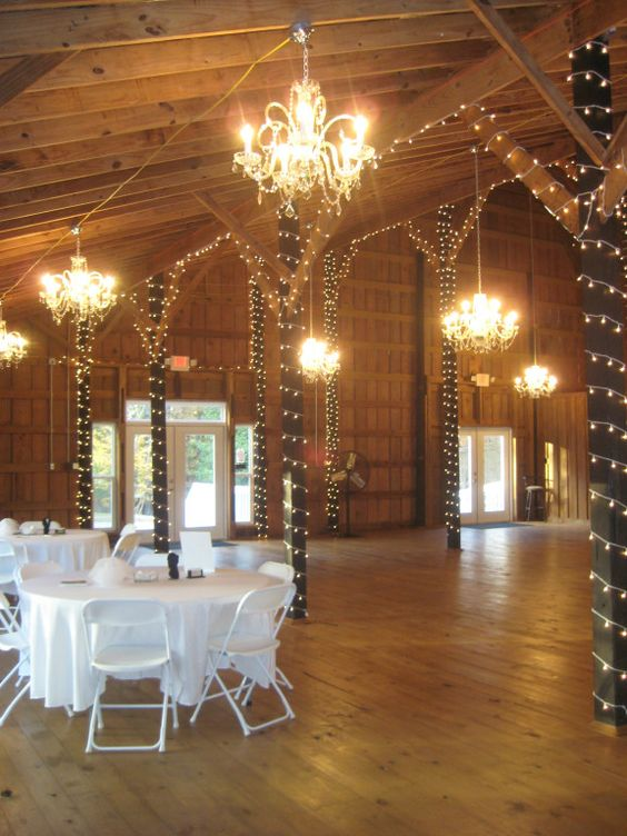 The crystal chandelier barn at sweet apple farms in the south we call this fancy alabama my home pinterest apple farm barn and reception halls