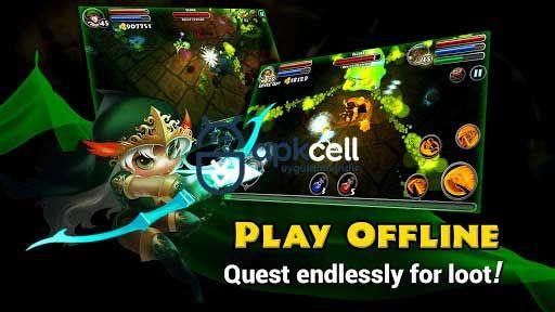 Dungeon Quest V3 0 5 1 Mod Apk Mega Hileli Rpg Oyunlar Android
