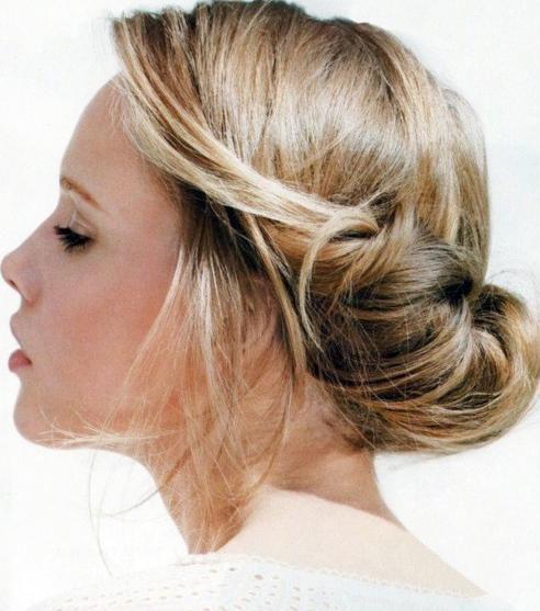 Pleasant Updo Women39S Fashion And Medium Lengths On Pinterest Hairstyles For Women Draintrainus
