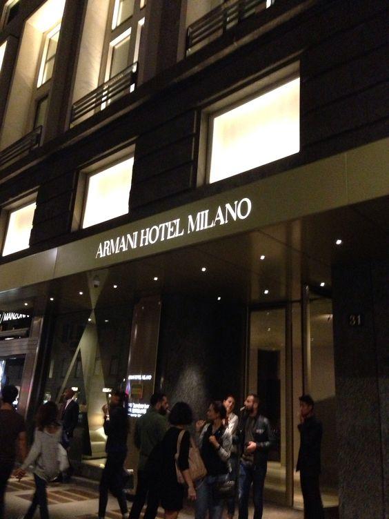 Armani Hotel Milano In 2019: Armani Hotel Milano, Italia