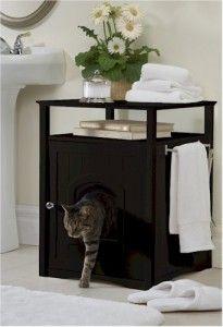 Designer Litter Box Furniture Cabinet | ... Cat Litter Box.Convient Feline Poop Box.Pet Cabinet Table.Furnitur e