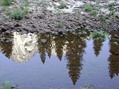 Yosemite National Park - Mirror Lake #MirrorLake #YosemiteNP #California #USA