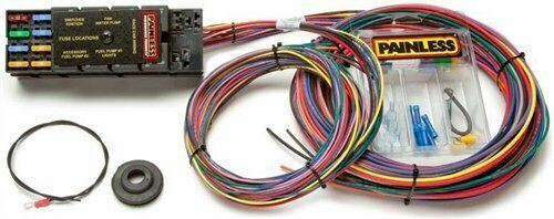 Ebay Sponsored Painless Performance Products 50001 10 Circuit Race Only Chassis Harness Racing Circuit Drag Cars Racing