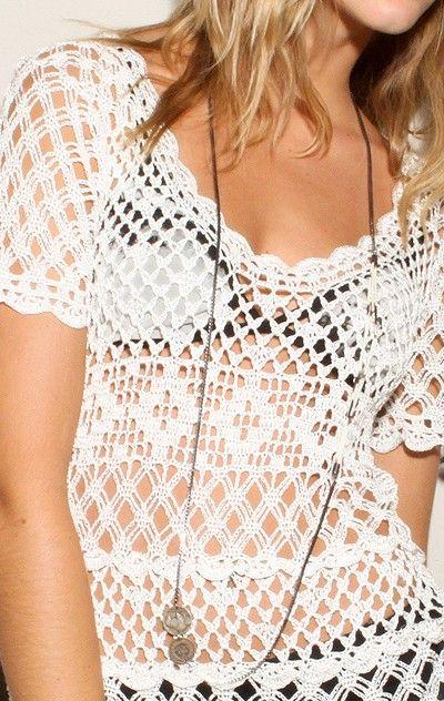 Crochet top: