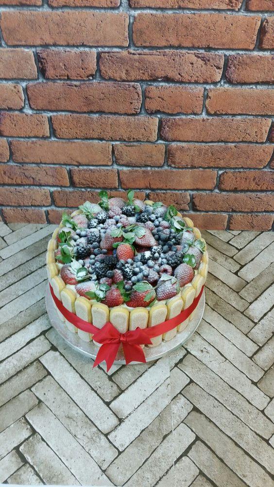 A thing of beauty! #ladyfingers #mixedberries #cremepatissiere #freshcream #vanillasponge #allgoodthings #tastybake #favourite #thepeopleschoice #getyours #familycakes #tastybakes