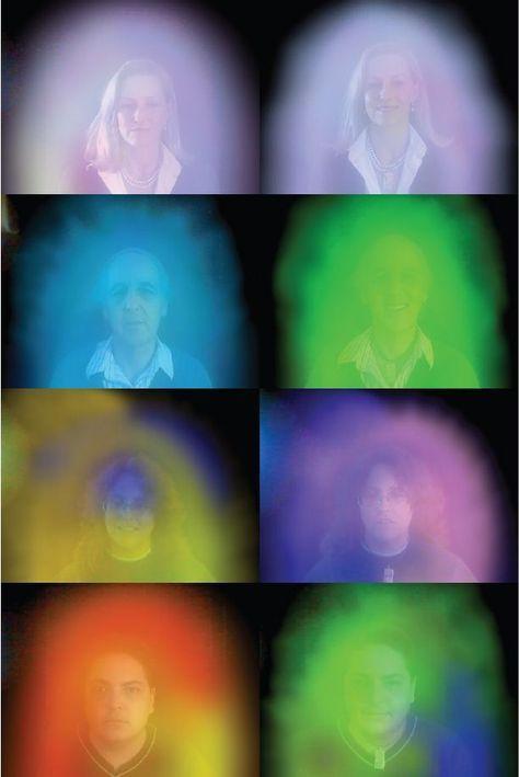 Intuïtieve interpretaties van verschillende aura kleuren