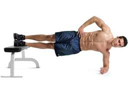 how to get rid of oblique muscle