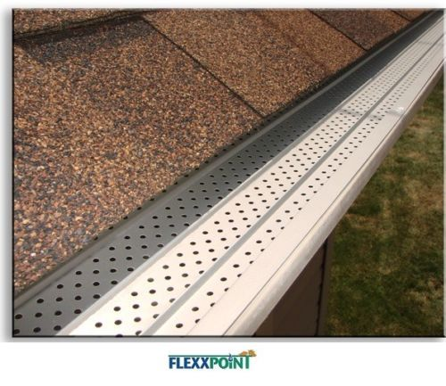 Flexxpoint 30 Year Gutter Cover System White Residential 5 034 Gutter Guards 20