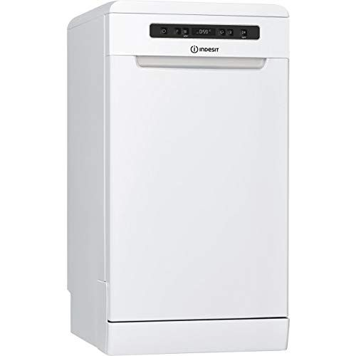 Indesit Dsfc3m19uk Freestanding A Rated Dishwasher White In