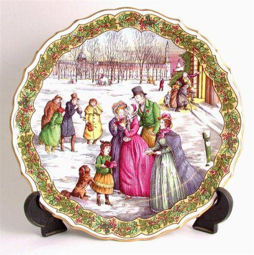 Christmas Carol Singers Decorations: Spode Victorian Christmas Series The Carol Singers CP162