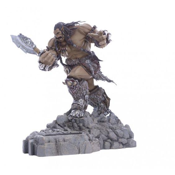 Pre-Order) Warcraft Movie Collection Durotan Statue Phone Dock ...