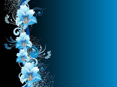خلفيات للتصميم 2021 خلفيات فوتوشوب للتصميم Hd Blue Flowers Background Flower Background Images Hd Flower Wallpaper