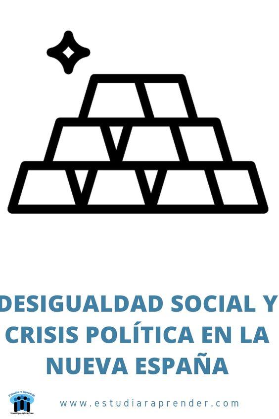 desigualdad social y crisis politica en la nueva españa