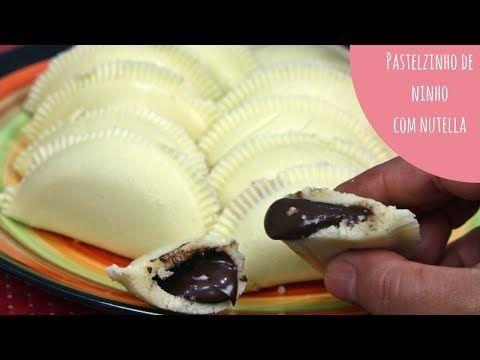 Coxinha De Leite Ninho Com Nutella 3 Ingredientes Desafiobg