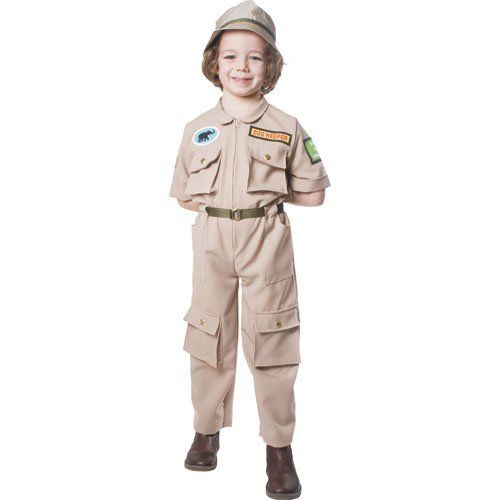 Zoo Keeper Children S Costume Size Medium By Dress Up America Http Www Amazon Com Dp B003l53z6 Kids Costumes Childrens Costumes Halloween Costumes For Kids