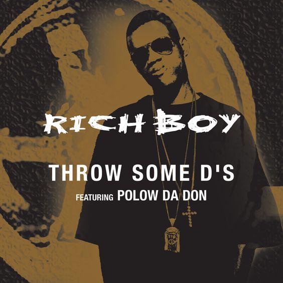 Rich Boy, Polow da Don – Throw Some D's (single cover art)