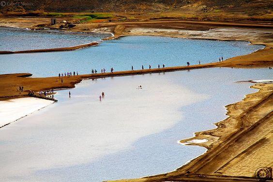 Salina,Pedra de Lume - Ilha do Sal, Cabo Verde