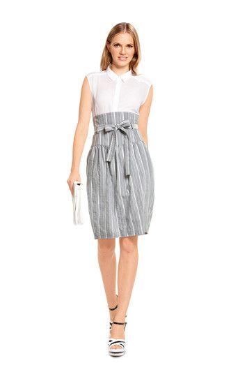 Love those high-waist skirts