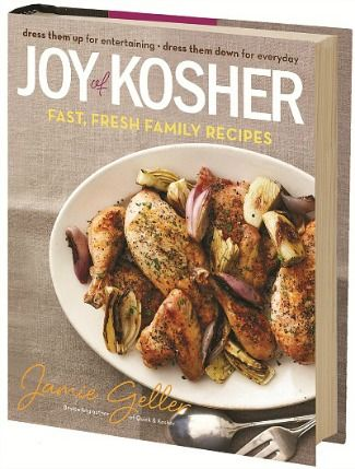 WIN the Joy of Kosher Cookbook from More Quiche Please - 3 winners will be selected.